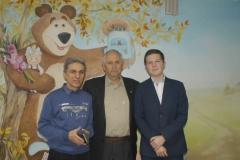 В.Балинов, UA3DPF, А.Зайцев, RW3DZ, Б.Багиров,