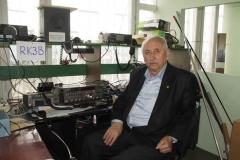 Александр Зайцев, начальник радиостанции RK3B