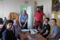 Энтузиасты ШЦКС от Фонда Батик и Школы № 29 вместе